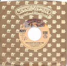 KISS * 45 * I Was Made For Lovin' You * 1979 * Nice NM! USA ORIGINAL VINYL PRESS