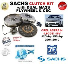 FOR OPEL ASTRA H 1.9 CDTi 16V SACHS CLUTCH KIT 2004-2010 with FLYWHEEL CSC BOLTS