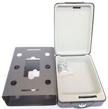 Roadster High Security Portable Safe Travel Deposit Cash Money Box 2 Keys 66190C