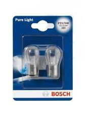 BOSCH  2 STÜCK 12V P21/5W BAY15D BIRNE LAMPE LICHT SCHEINWERFER 1987301016