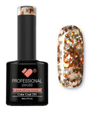 285 VB Line Orange Silver Glitter - gel nail polish - super gel polish