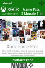 Xbox Game Pass 3 Monate Mitgliedschaft Code - Xbox Live Download key - DE & EU