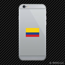 Colombian Flag Cell Phone Sticker Mobile Colombia COL CO