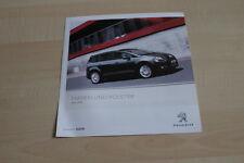 126212) Peugeot 5008 - Farben & Polster - Prospekt 05/2012