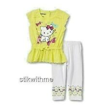Charmmykitty 2-Piece SET: TOP & LEGGINGS Toddler Clothing (4T) NEW Free Shipping