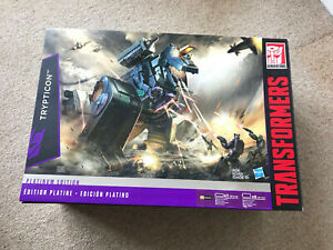 Transformers Platinum Edition G1 Trypticon, NEW/Boxed UK Seller