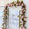 Künstliche Hängend Efeu Girlande Blumen Hochzeit Garten Deko Kunstpflanze DIY