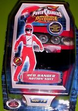 Power Rangers Operation Overdrive RED Ranger Costume + Mask 7/8 NeW in Package