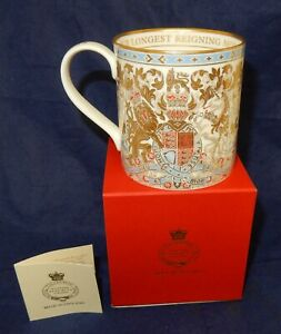 Queen Elizabeth II Royal Collection Trust Longest Reigning Monarch China Mug