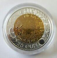 ÖSTERREICH: 25 EURO 2009, INT. JAHR DER ASTRONOMIE, NIOB, (LiKa18+17), STGL