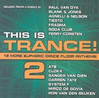 VARIOUS ARTISTS - THIS IS TRANCE, VOL. 2 NEW CD