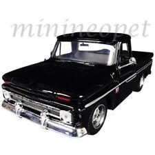 MOTORMAX 73355 1966 CHEVROLET C10 FLEETSIDE PICKUP TRUCK 1/24 DIECAST BLACK