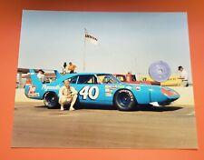Pete Hamilton 1970 Plymouth 426 Hemi Superbird 8x10 Photo NASCAR at Talladega