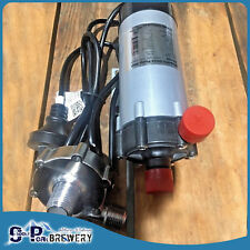 25w Magnetic Drive Pump with SS Pump Head - Wort Pump , All Grain, Mash Tun