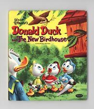 "Donald Duck ""The New Birdhouse"" - Beautiful File Copy - 1956"