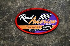 ROAD AMERICA PATCH SEASON 55 2010 ELKHART, WI RACEWAY RACING TRACK SEW/IRON-ON!