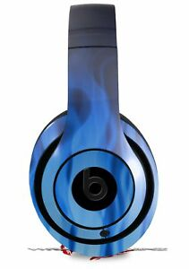 Skin for Beats Studio 2 3 Fire Blue HEADPHONES NOT INCLUDED