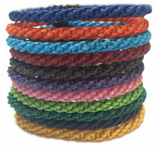 The Twist Wax Cotton Mens Thai Wristband Handcrafted Classic Bracelet