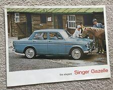 Singer Gazelle Sale Brochure