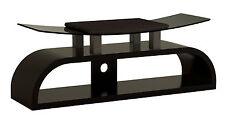 """Wooden and Tempered Glass TV Stand for SONY LCD LED PLASMA 32"""" to 55"""" TV's"""