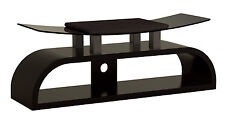 "Wooden and Tempered Glass TV Stand for SONY LCD LED PLASMA 32"" to 55"" TV's"