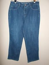 Christopher Banks Classic Fit Womens Size 14 Short Straight Leg Blue Jeans