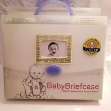 Baby Briefcase Paperwork Organizer in One Place Document Bag 850977001032