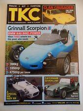 Track Kit Custom TKC magazine - Jan/Feb 2017 - Caterham 7 - MK INDY RR