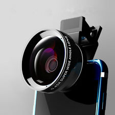 For iPhone Samsung S6 S7 edge S8 +Plus 12.5x Macro Lens 0.45x Wide Angle HD 37MM