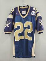 VTG 80s 90s Delong Big South Charleston Southern #22 Football Game Jersey Men XL