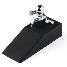 Doorman Push Shape Wedge Stopper Rubber Base Jam Jammer Block Blocker Novelty