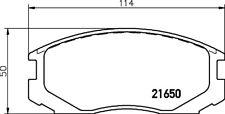 Mintex Pastillas de freno Delantero mdb1722 - NUEVO- ORIGINAL- 5 años garantía