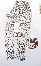 Jaguar Panther Stencil Reusable 10 mil Mylar Stencil