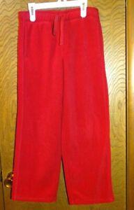 Gymboree Boy's Fleece Sweat Pants Size 10 Red