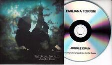 EMILIANA TORRINI Jungle Drum 2009 UK 1-track promo CD