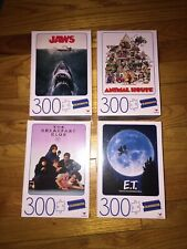 Blockbuster Movie Poster 300pc Puzzles Jaws, ET, Animal House, Breakfast Club