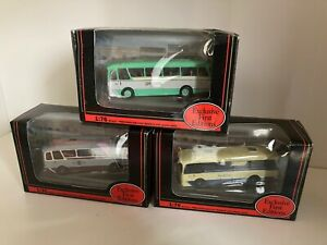 3x Exclusive First Editions cavalier grey cars Grenadier Harrington coaches