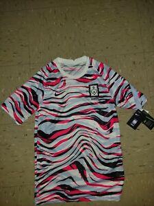 Nike South Korea 2020 Pre-Match Football/Soccer Jersey Size S [CQ9193-100]
