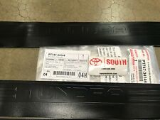 2012-2020 Toyota Tundra Crew Max Door Sill Protectors  Genuine OEM PT747-34144
