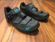 Giro Women's Terradura MTB Cycling Shoes - Black/Dynasty Green, EU 39 (US 7.5)