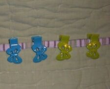 Lot of 4 Gymboree Hair Clips*Blue Butterfly*Green Butterfly