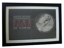 PINK FLOYD+Wish You Here+POSTER+AD+RARE ORIGINAL 1975+FRAMED+EXPRESS GLOBAL SHIP