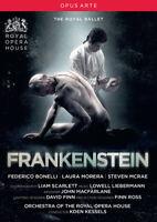 Frankenstein: The Royal Ballet (Kessels) DVD (2017) Koen Kessels cert tc