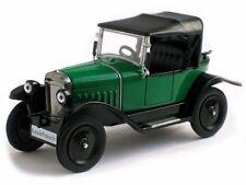 OPEL 4/12 PS Laubfrosch Año fabricación 1924 VERDE EN 1:43 de IXO die-cast