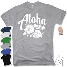 T-Shirt - ALOHA -  Surfer HAWAII Vintage Party Retro Funshirt Kult S M L XL XXL