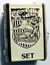 COMPLETE SET OF 88 TRADING CARDS DESERT STORM 1991 TOPPS MINT (85)