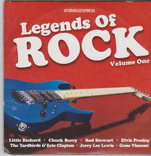 LEGENDS OF ROCK VOL ONE PROMO CD LITTLE RICHARD CHUCK BERRY YARDBIRDS & CLAPTON