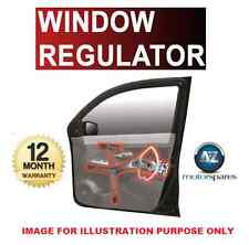 FOR FIAT DOBLO CARGO 1.3D MULTIJET FRONT RIGHT WINDOW REGULATOR