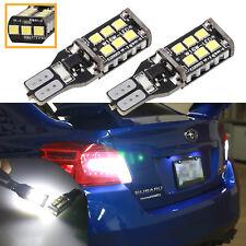 LED T15 W16W Canbus 15 SMD LED Rücklicht Bremslicht Tagfahrlicht Lampe Weiß