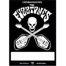 Poster THE FUZZTONES Spain 2017 Tour . garage punk cramps lyres cynics sonics